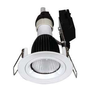 Downlight frame GU10 fixed white