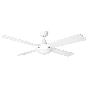 "BRILLIANT TEMPEST LED 52"" CEILING FAN WITH 4200K LED LIGHT WHITE"