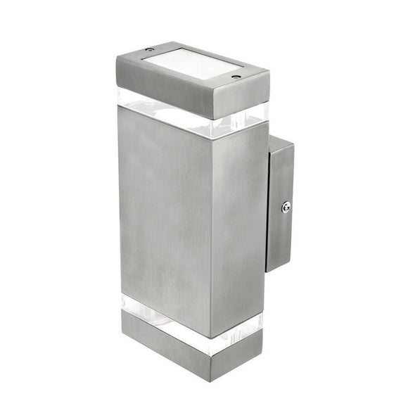 Entasis rectangular up/down wall light 304 stainless steel