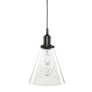 Liska 200mm feature glass pendant