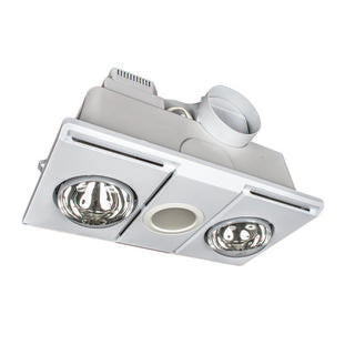 Supernova 2+1 light 3-in-1 bathroom mate white