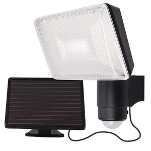 Solei solar-powered LED security light with sensor