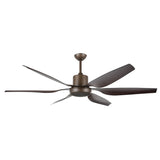 "BRILLIANT AVIATOR 66"" (1670mm) CEILING FAN OIL RUBBED BRONZE"