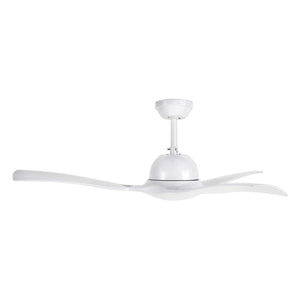 "BRILLIANT LATITUDE 52"" DECORATIVE ACRYLIC CEILING FAN"