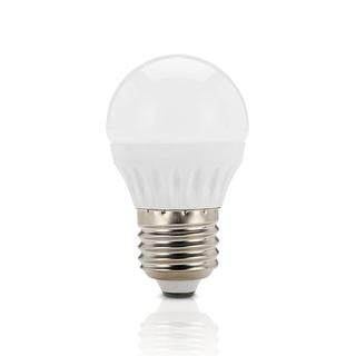 Fancy round LED bulb 3W 3000K frosted E27