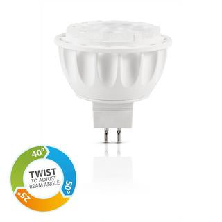 MR16 LED bulb 6W 3000K adjustable angle