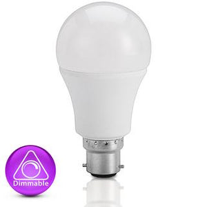 LED bulb 8W 4200K B22 dimmable