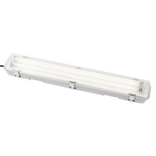 T5 weatherproof fluorescent fitting 2x14W 4200K IP65