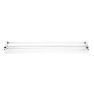 T5 bare batten fluorescent fitting 2x14W 4200K