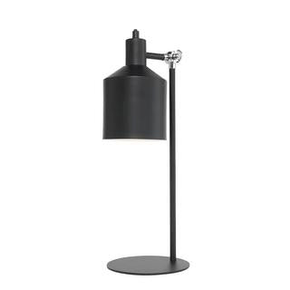 Syphon metal table lamp black