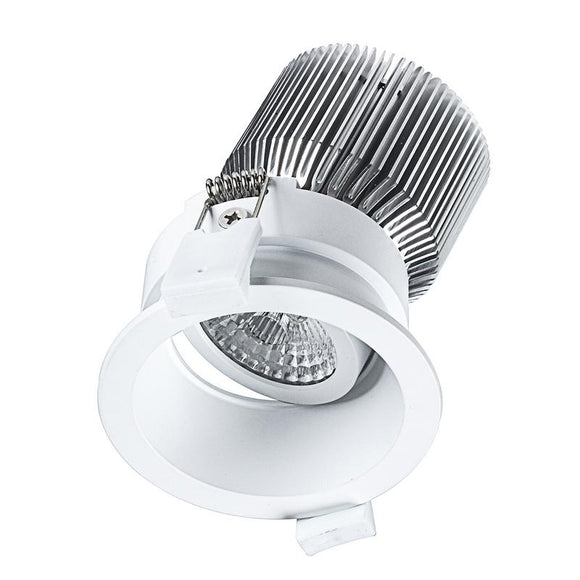 Mini trim LED round gimbal downlight 11W cool white 4000K white