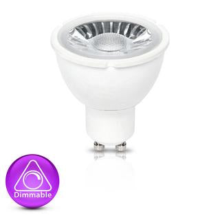 GU10 LED bulb 7W 3000K dimmable
