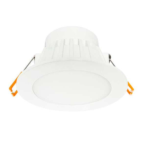Orion 8W LED 3000K 90mm cutout dimmable downlight