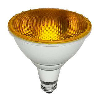 PAR38 LED bulb E27 15W yellow