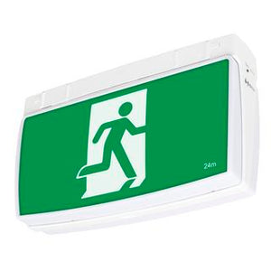 One-box 2W exit sign