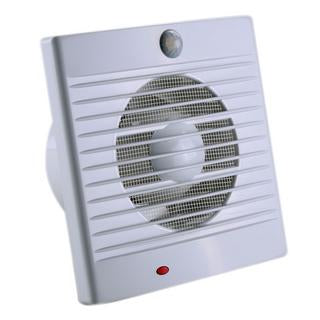 Sensa-flow 18W square wall/window exhaust fan with PIR sensor