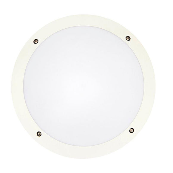 Hardy LED 12W vandal-proof round bunker white