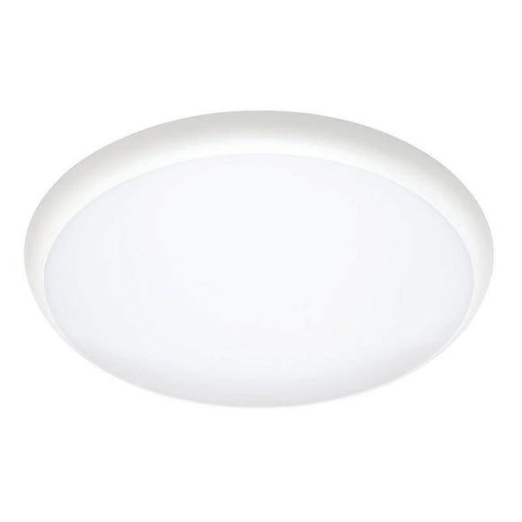 Olsen LED 12W dimmable IP54 round oyster