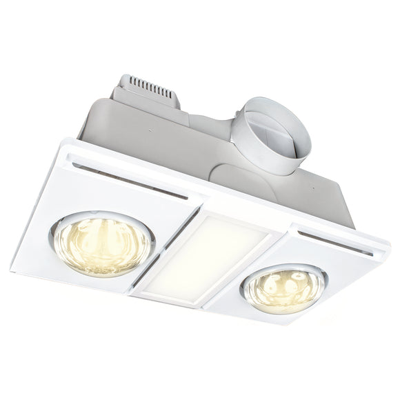 Supernova II 2+1 light 3-in-1 bathroom mate white