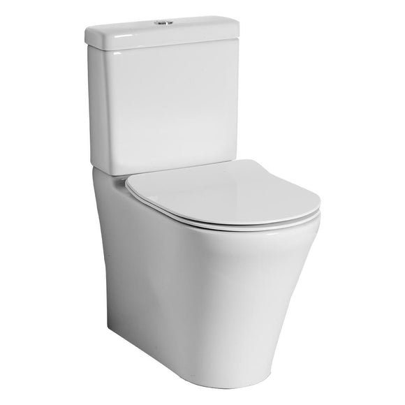 Villeroy and Boch O.novo 2.0 direct flush back to wall S trap slim seat bottom entry