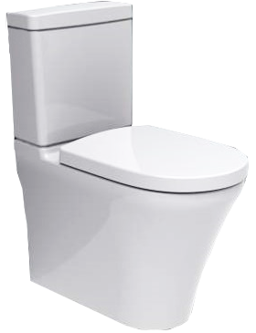 Villeroy and Boch O.novo 2.0 direct flush back to wall S trap 110-200 soft close Ceramic Plus