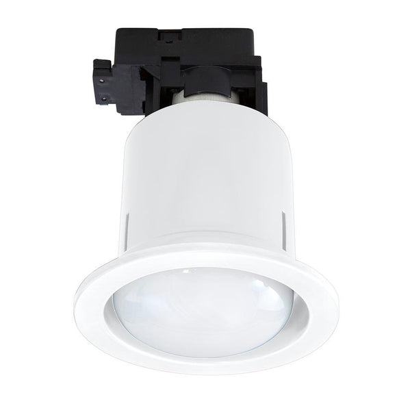 Uni-5 large CFL downlight with R80 CFL white