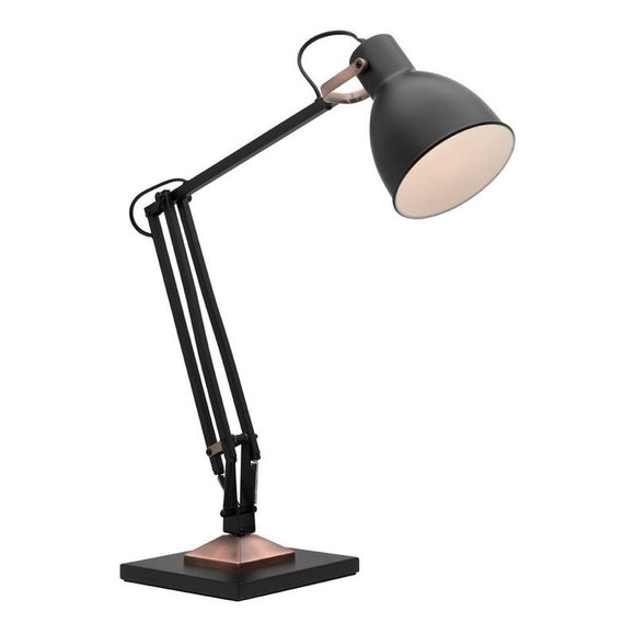 Ashton table lamp black