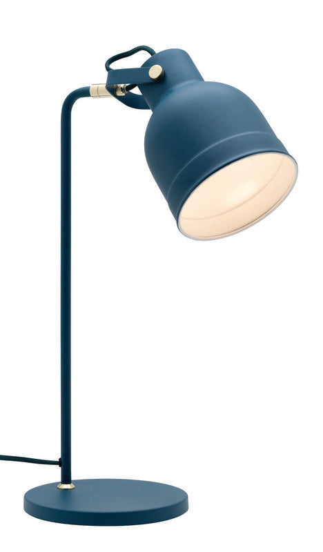 Elliot table lamp blue