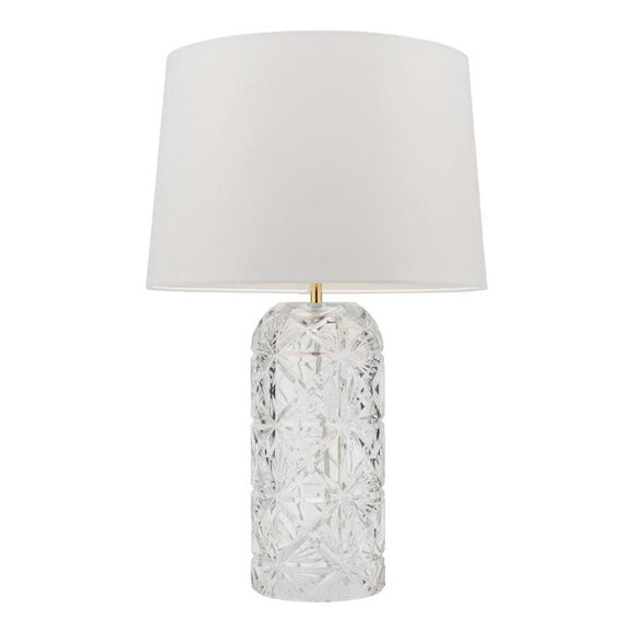 Zoya table lamp clear