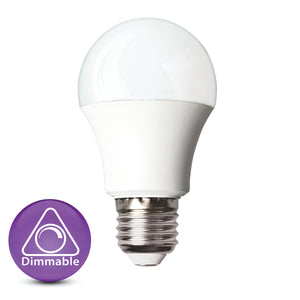 9W 3000K B22 bulb dimmable