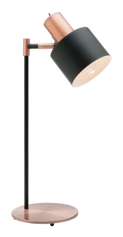 Benjamin table lamp matt black