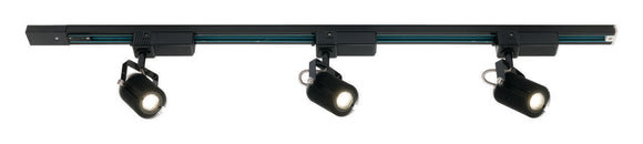 Mast 3x10W LED track light black