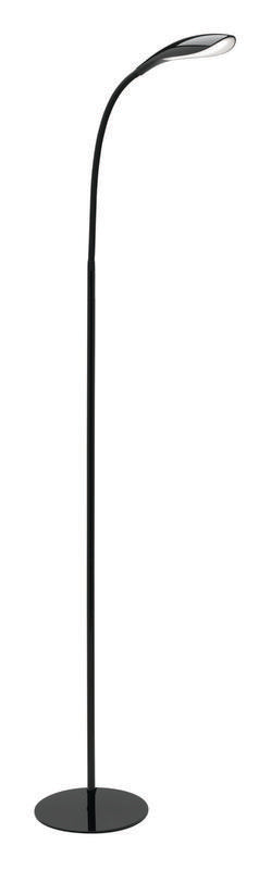 Lennox 6.5W LED floor lamp black