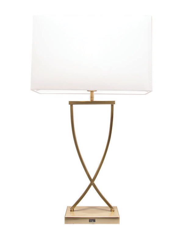 Aristo table lamp bronze