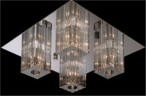Epic Lucy 4 light crystal ceiling lights