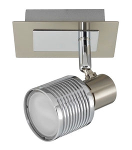 Epic B6800/1  1 Light 2 tone Satin & Chrome