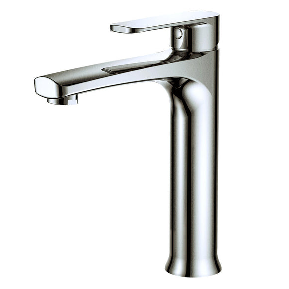 Argent Pace Tall Basin Mixer Brushed Nickel