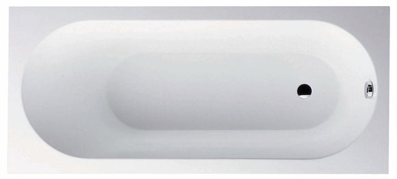 Villeroy and Boch Oberon rectangular Bath 160x75 cm with bath filler