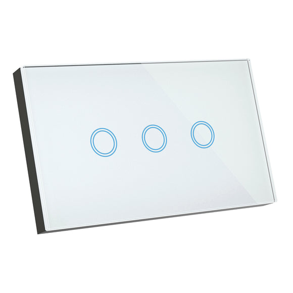 Brilliant Smart Lighting Elite 3 gang switch
