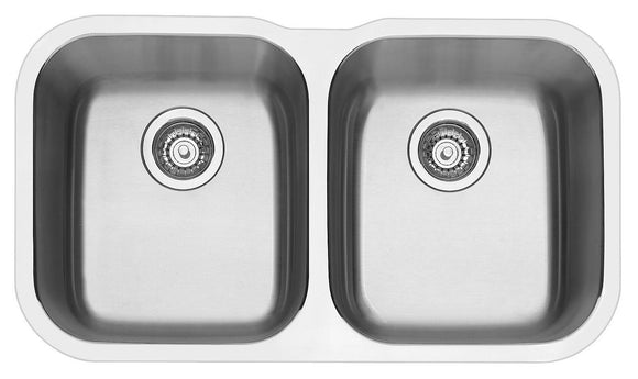 Blanco ESSENTU2K5 double bowl undermount sink