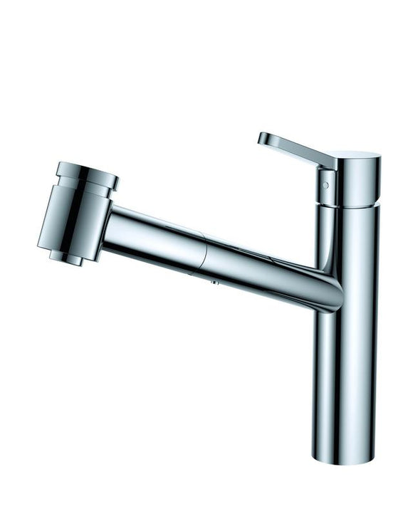 Argent Esprit pull out spray Low Kitchen Mixer