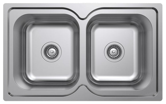 Argent Format Double Main Bowls no tap hole 780 x 480