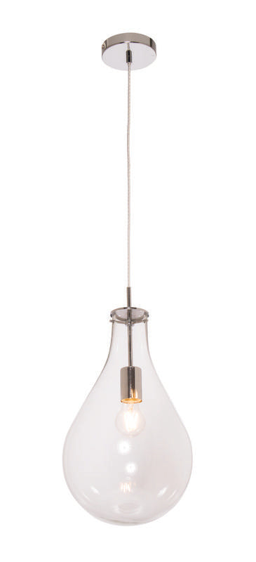 Kosta large pendant clear