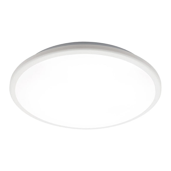 Mercator Jazz 38W LED oyster light white frame warm white