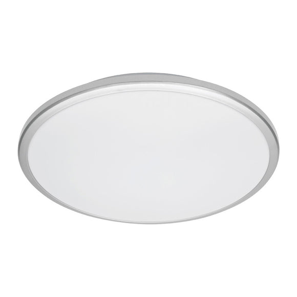 Mercator Jazz 38W LED oyster light silver frame daylight