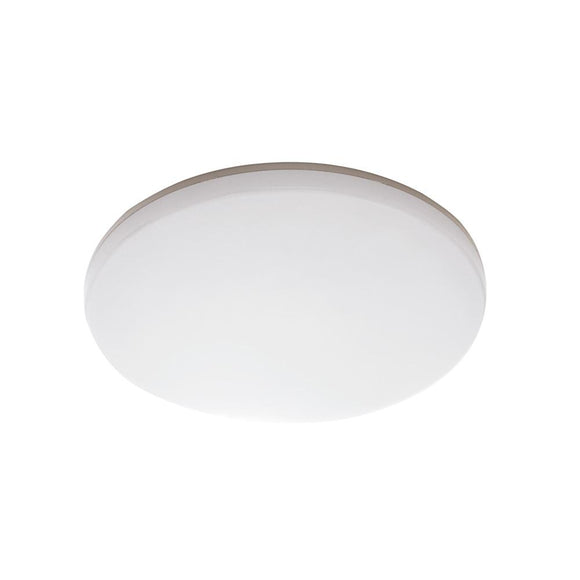 Mercator Dawson 36W LED oyster light dimmable cool white