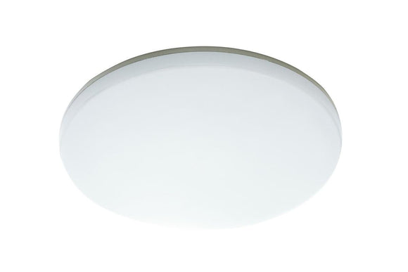 Mercator Dawson 24W LED oyster light dimmable cool white