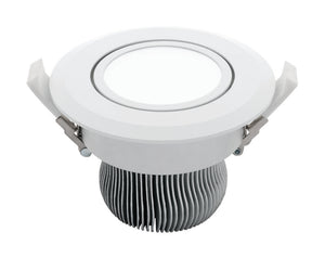 Equinox 2 16W LED gimble downlight white 5000K