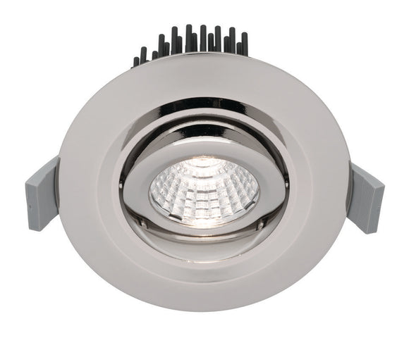 Mezzo 12W LED downlight silver 5000K