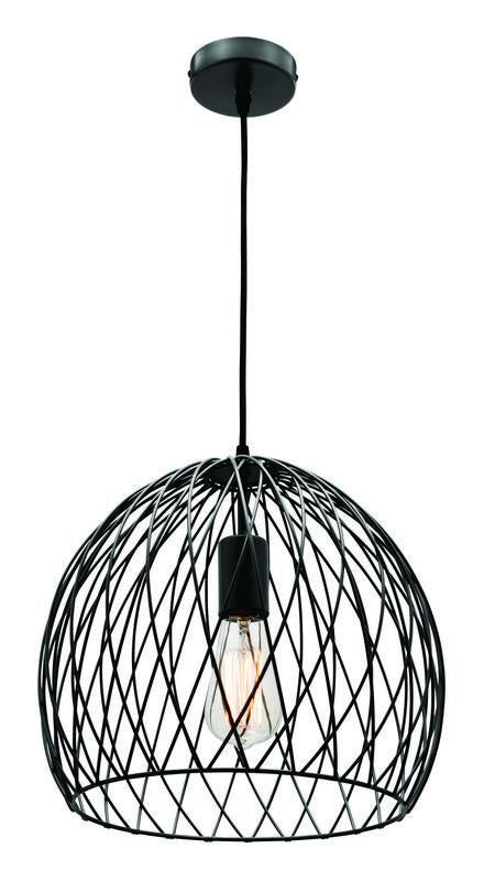 Chia small pendant matt black